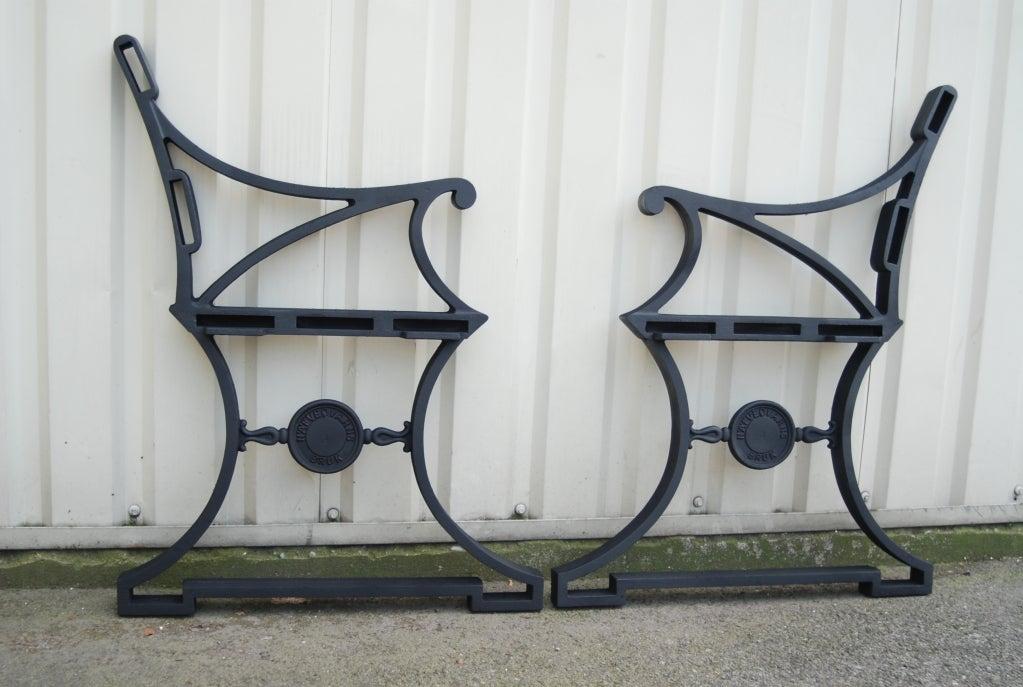 Scandinavian Modern Folke Bensow, Garden bench #3 For Sale
