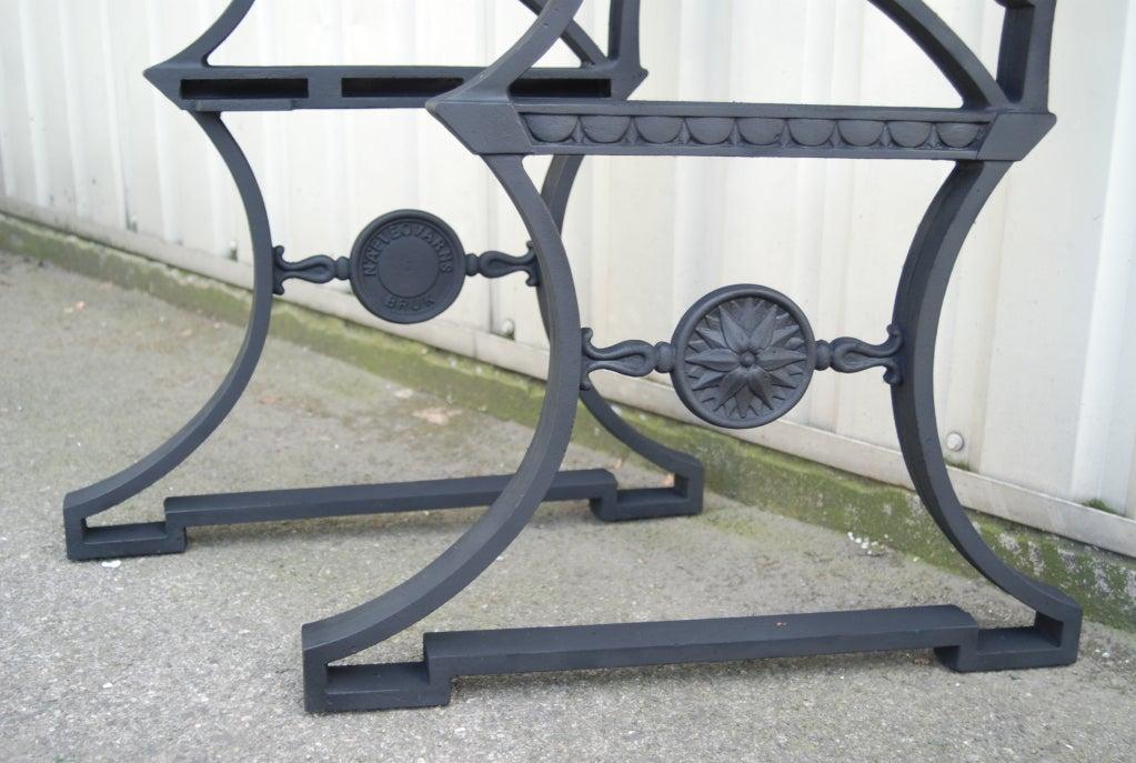 Swedish Folke Bensow, Garden bench #3 For Sale