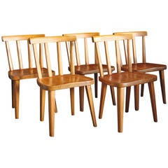 "10 ""Uto"" Chairs by Axel Einar Hjorth"