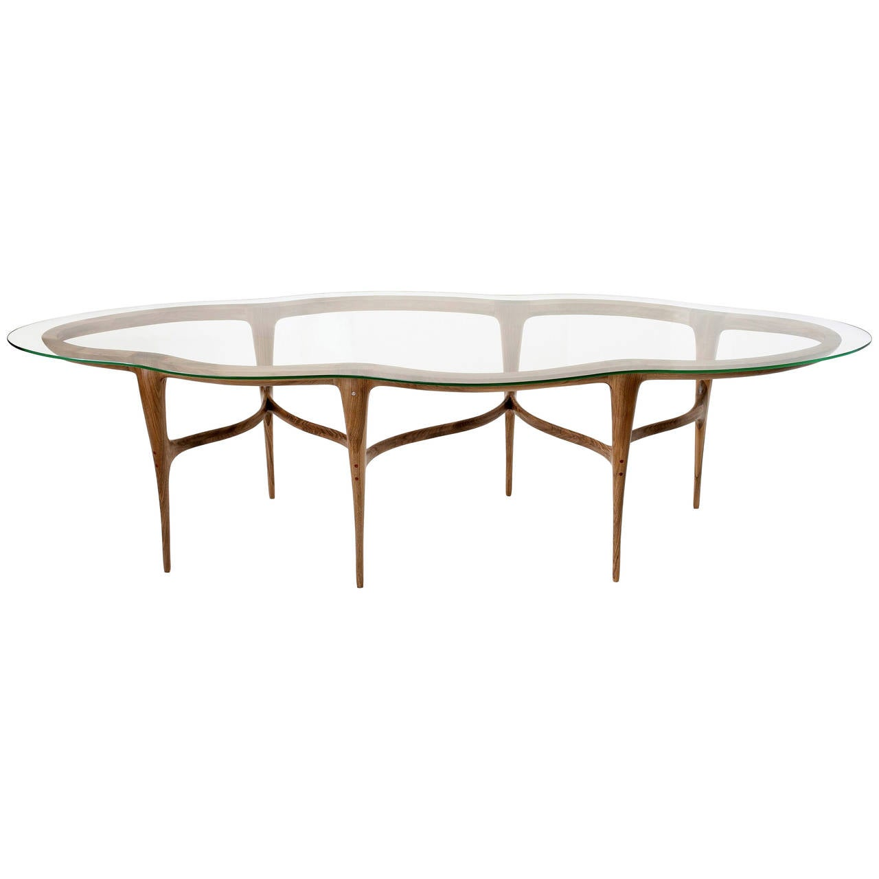Limited edition dining table by ask emil skovgaard for for Limited space dining table