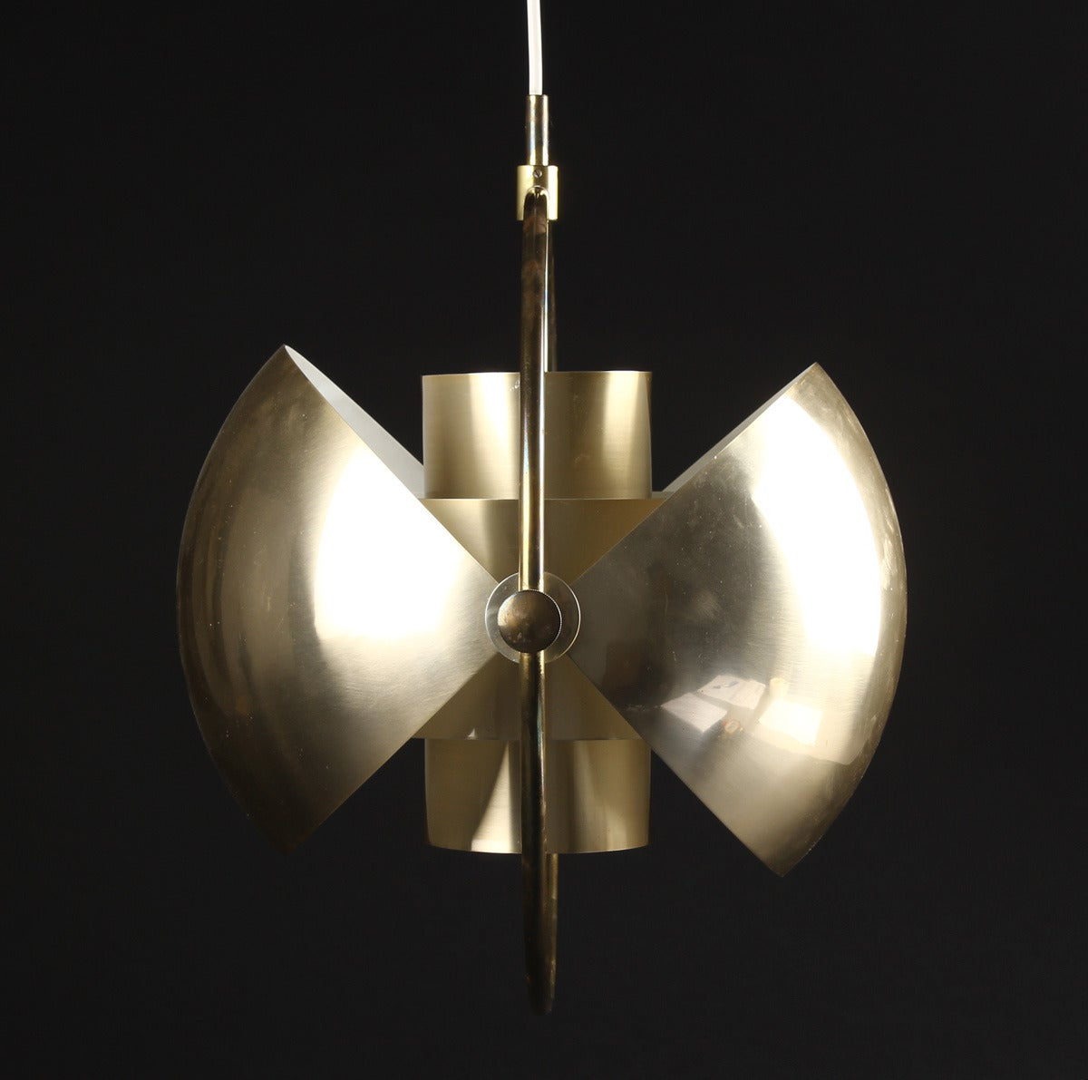 Scandinavian Modern Original Multi-Light Pendant by Louis Weisdorf for Lyfa/ 4 available For Sale