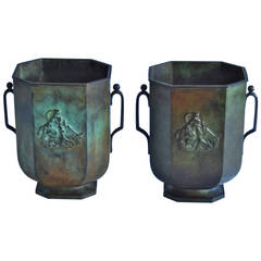 Bronze Vase Just Andersen /2 available