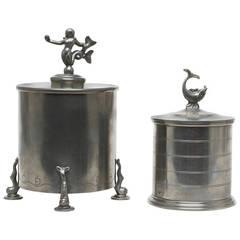 Pair of Tobacco Jars by Svenskt Tenn