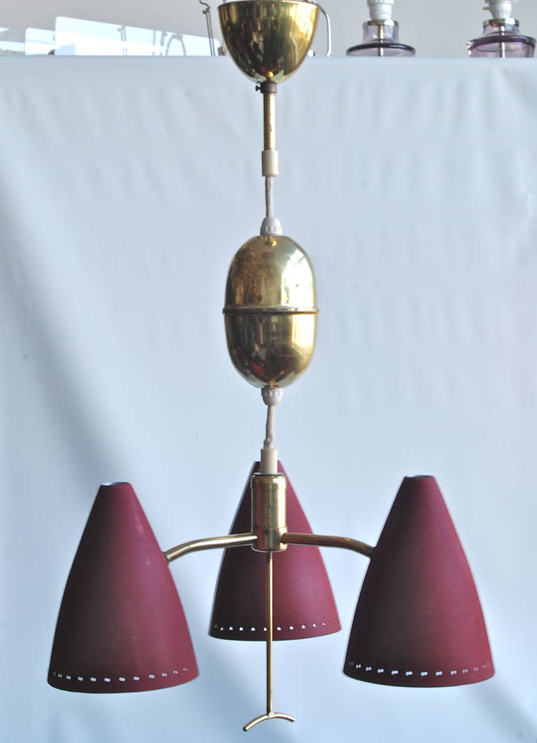 Swedish pendant, circa 1960s.