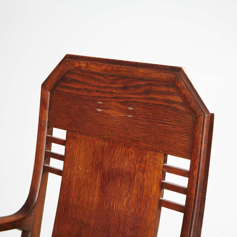 20th Century Set of Eight Chairs by Nordiska Kompaniet, David Blomberg Attributed For Sale
