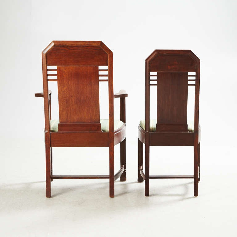 Set of Eight Chairs by Nordiska Kompaniet, David Blomberg Attributed In Excellent Condition For Sale In Long Island City, NY