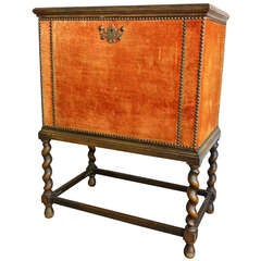 Small Cabinet or Nightstand, Otto Schulz Attributed