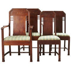 Set of Eight Chairs by Nordiska Kompaniet, David Blomberg Attributed