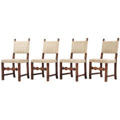 Set of Chairs by Axel Einar Hjorth for Bodafors