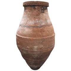 Tall Terracotta Vessel