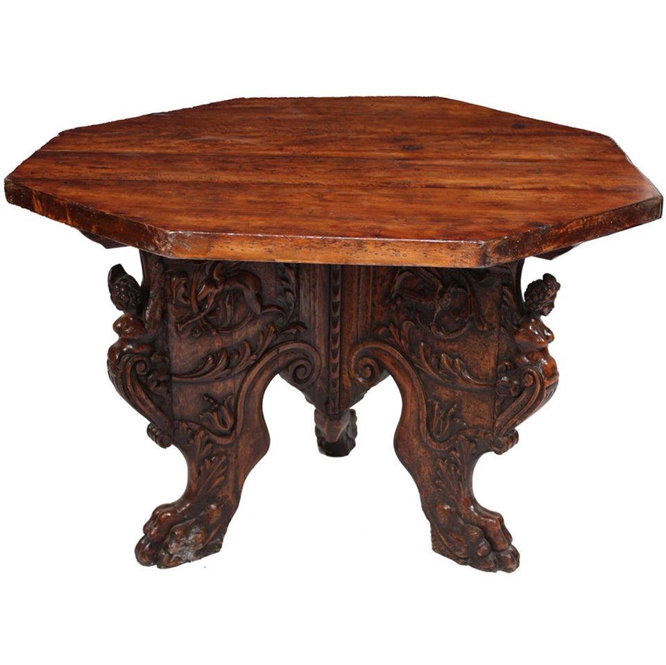 Italian Renaissance Foyer Table at 1stdibs : XXXIMG2113copyA from 1stdibs.com size 960 x 959 jpeg 95kB