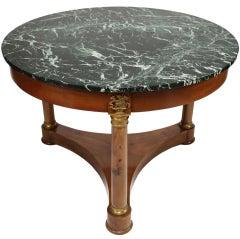 Antique Empire Round Table