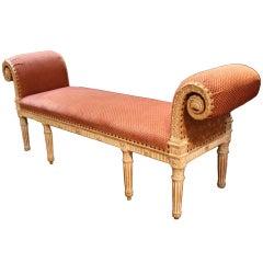 Swedish Louis XVI Bench
