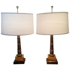 A Pair Of Chapman Table Lamps