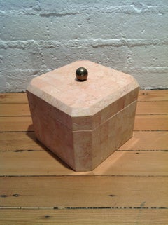Maitland Smith Tessellated Marble Box