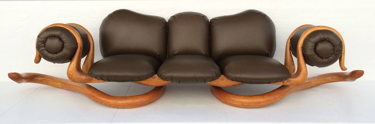 Attractive Spectacular Sculptural Studio Sofa, Chairs And Cocktail Table By Peter Danko  2