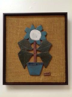 Mounted Studio Ceramic by Raul Coronel