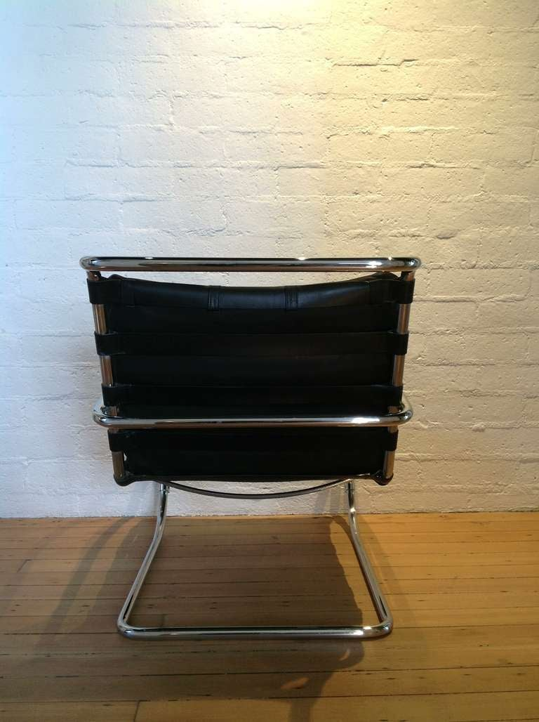 this a pair of mies van der rohe mr lounge chairs is no longer