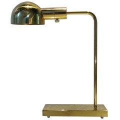 Brass Table/Desk  Lamp by Casella
