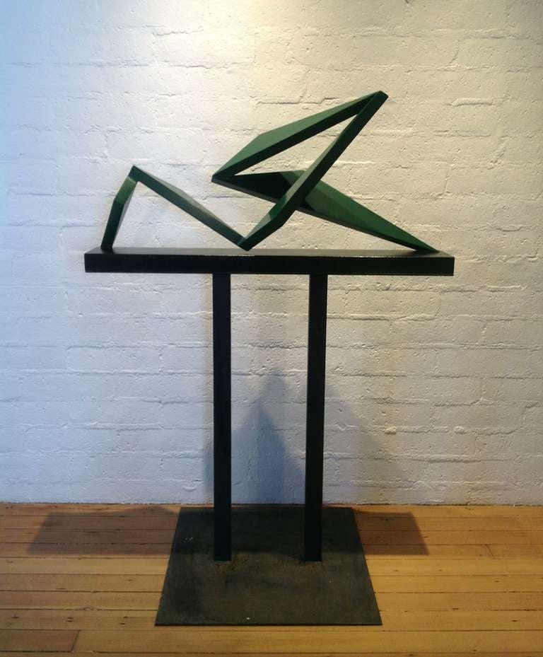"""Sculpture """" Hang Ten """" by New York Artist John Neumann 2"""