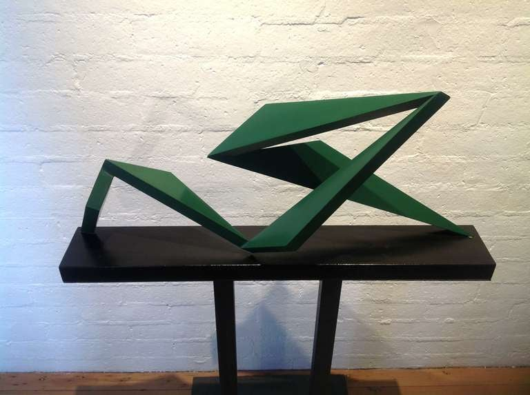 "Sculpture "" Hang Ten "" by New York Artist John Neumann image 3"