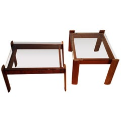A Pair Of Percival Lafer Side Tables