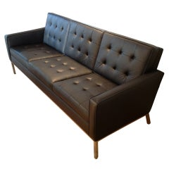 A Florence Knoll Three Seat Sofa in Amazing Condition