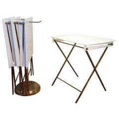 Charles Hollis Jones Folding Tray Tables