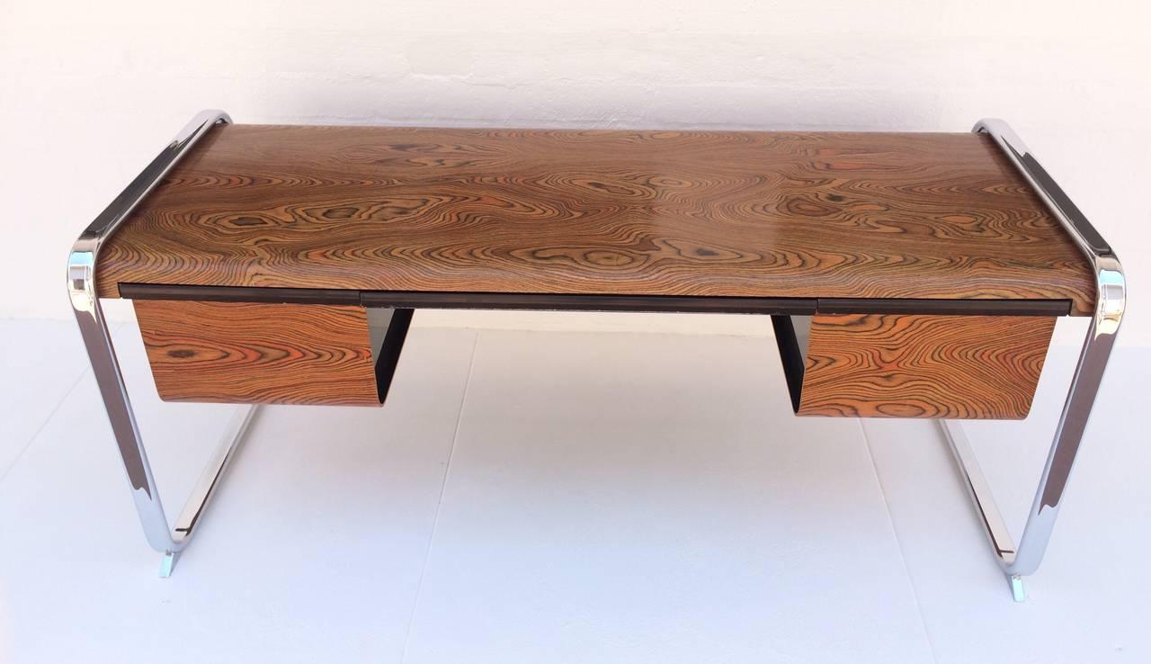 84 Zebra Wood Office Furniture Custom Zebrawood Dining