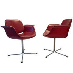 """Flamingo"" Chair by Erik Jorgensen (pair)"