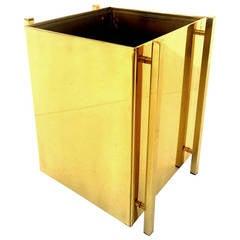 """""""Post Line"""" Waste Basket Designed by Charles Hollis Jones"""