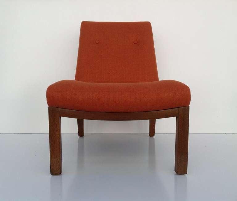 American Slipper Chair by Edward Wormley for Dunbar For Sale