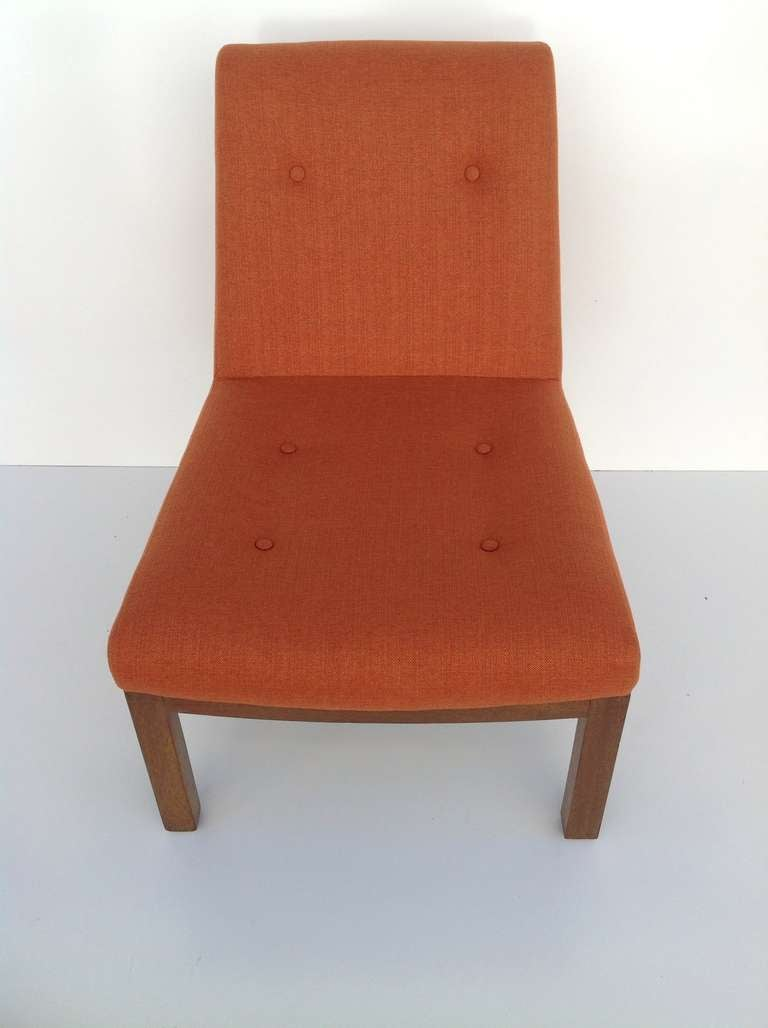 Slipper Chair by Edward Wormley for Dunbar In Excellent Condition For Sale In Palm Springs, CA