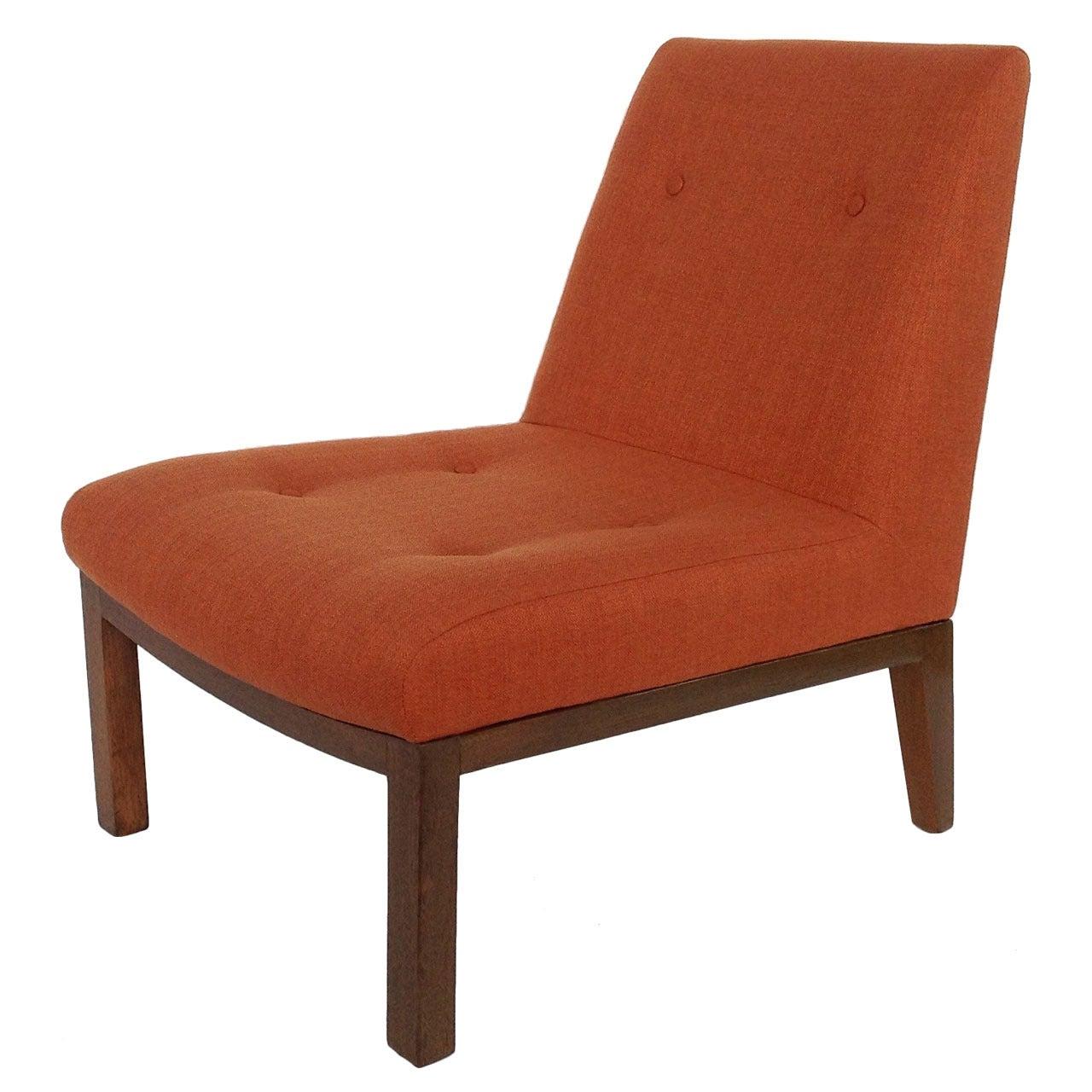 Slipper Chair by Edward Wormley for Dunbar