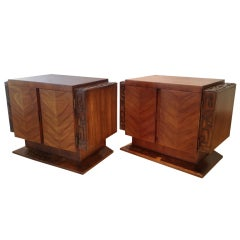 A Pair of Lane Nightstands