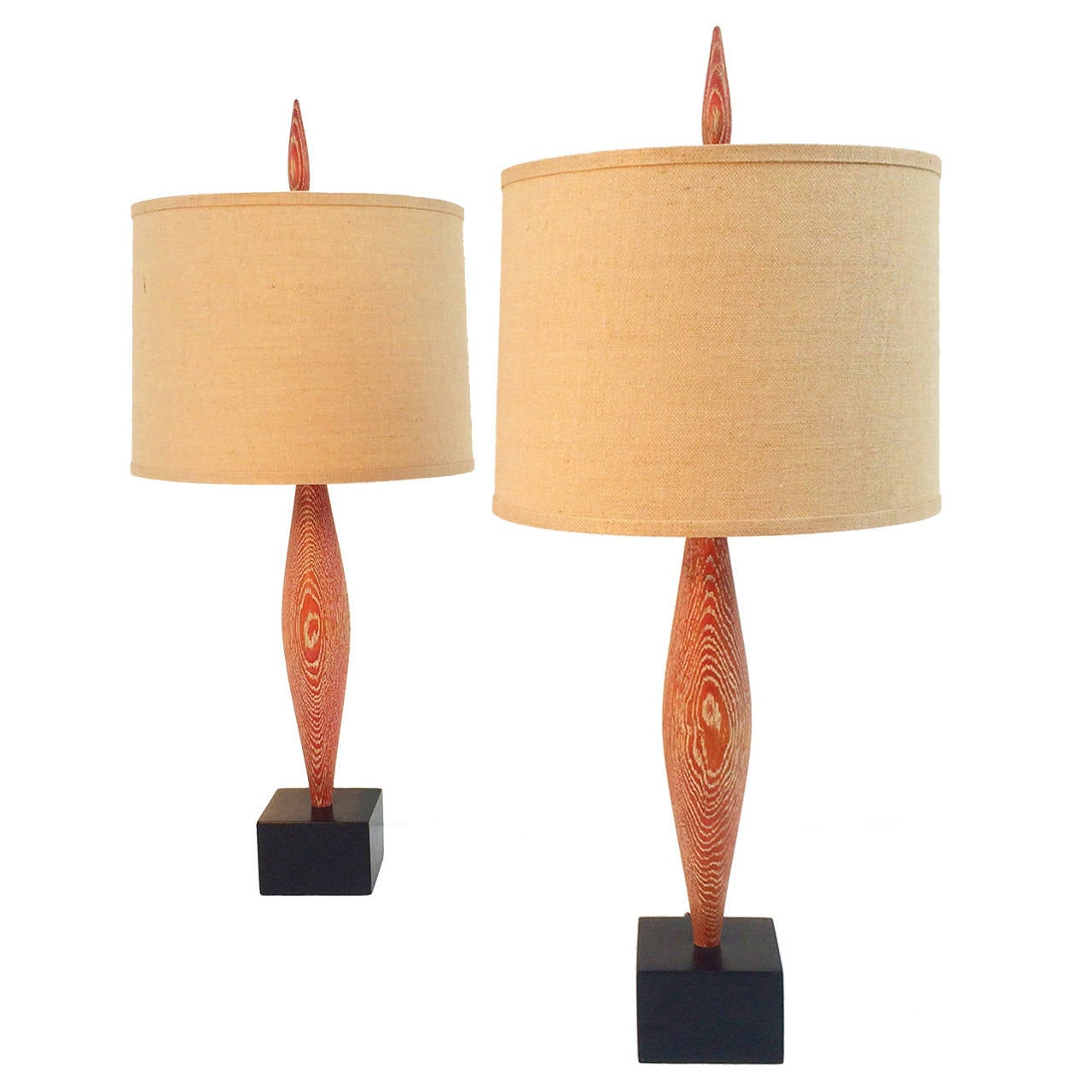 Pair of Yasha Heifetz lamps