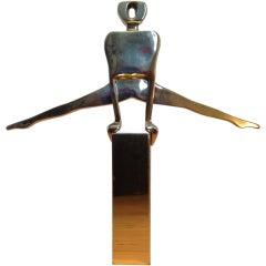 Gymnast Sculpture by Dolbi Cashier