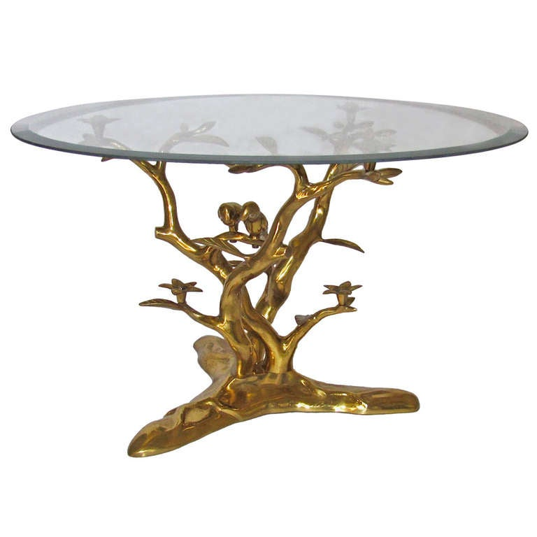 Willy Daro Organic Bronze Cocktail Coffee Table At 1stdibs