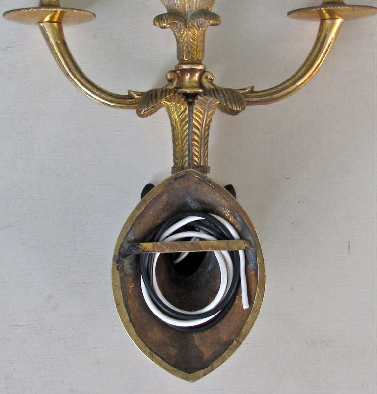Wall Sconces Equestrian: French Bagues Bronze Horse Equestrian Wall Sconces At 1stdibs