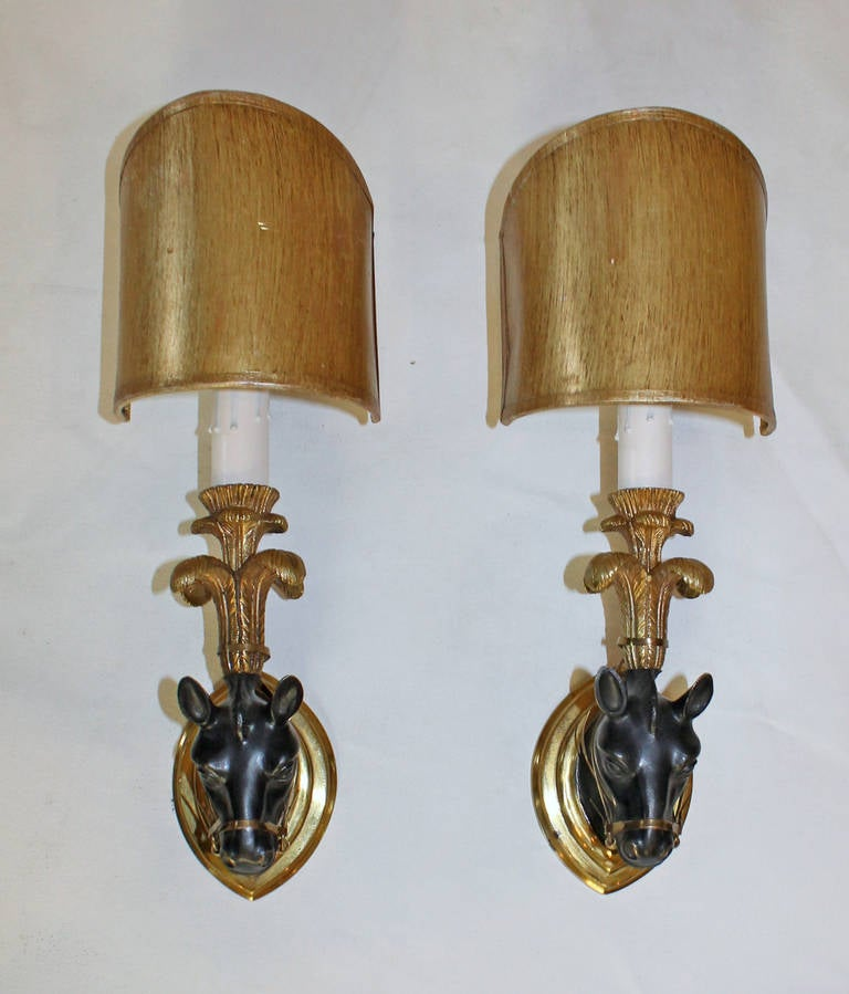 Wall Sconces Equestrian