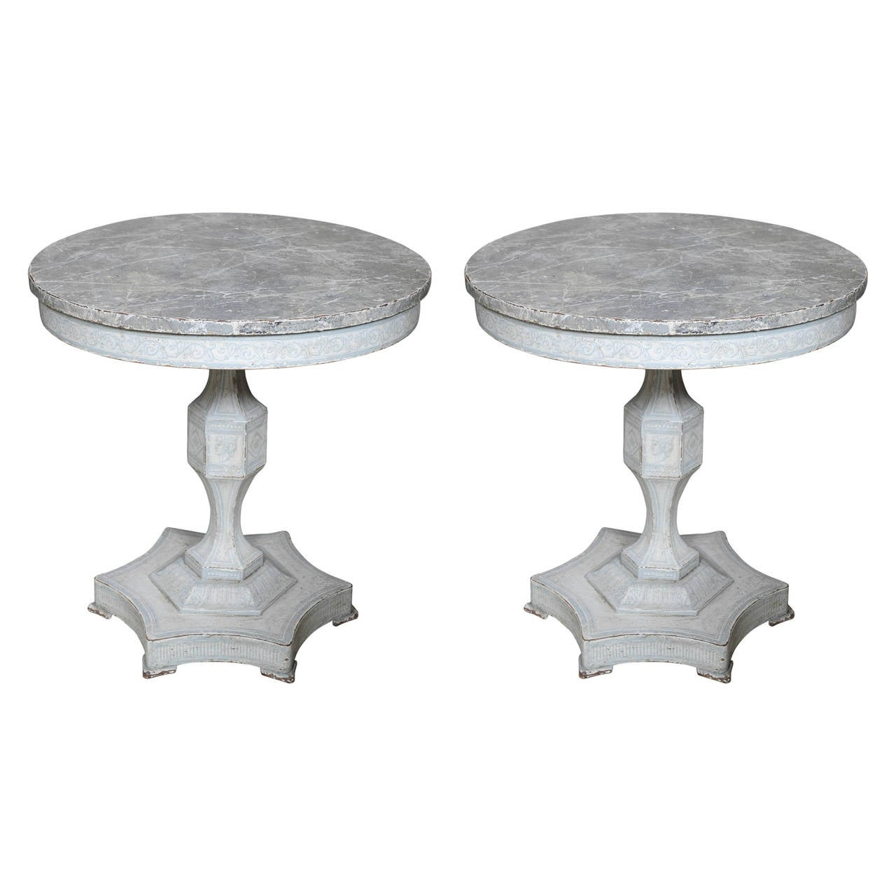 French Connection Gunmetal Coffee Table: 2 French 19th.Cent.Queridons At 1stdibs