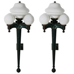 Pair of Five-Light Sconces