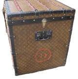 Louis Vuitton Gentlemans Steamer Trunk c1912 image 2