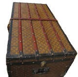 Louis Vuitton Gentlemans Steamer Trunk c1912 image 3