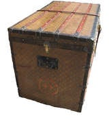 Louis Vuitton Gentlemans Steamer Trunk c1912 image 4