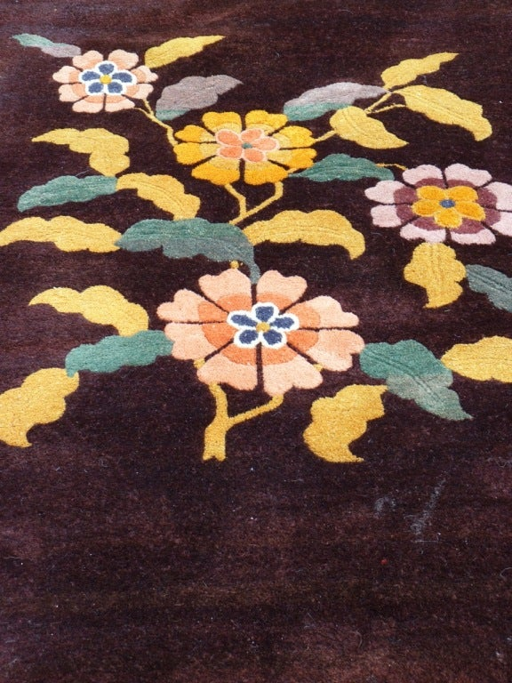 Chinese 1940 s wool carpet image 4