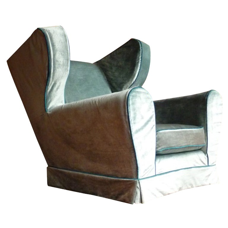 The Burgh Island Art Deco Easy Chair At 1stdibs