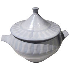 Rare Large Tureen by Roger Capron, Vallauris, circa 1960