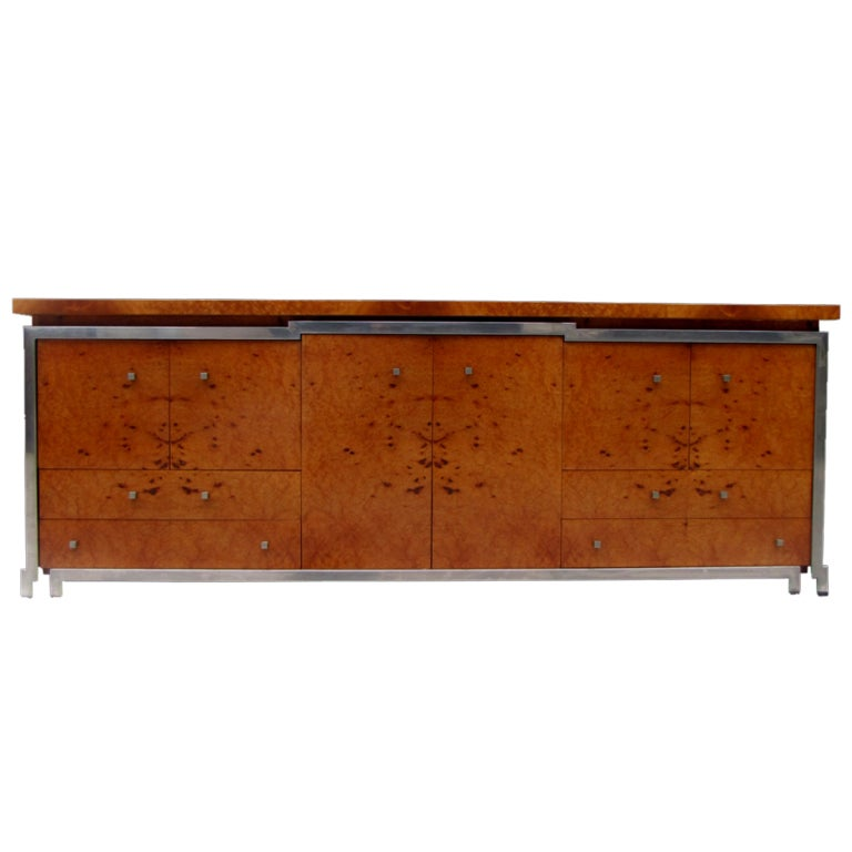 Rare and beautiful 1970's sideboard For Sale