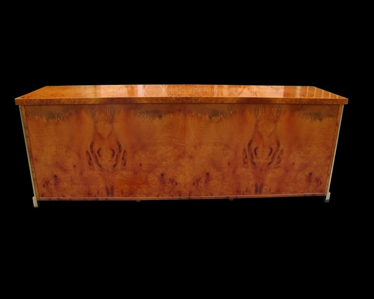 French Rare and beautiful 1970's sideboard For Sale